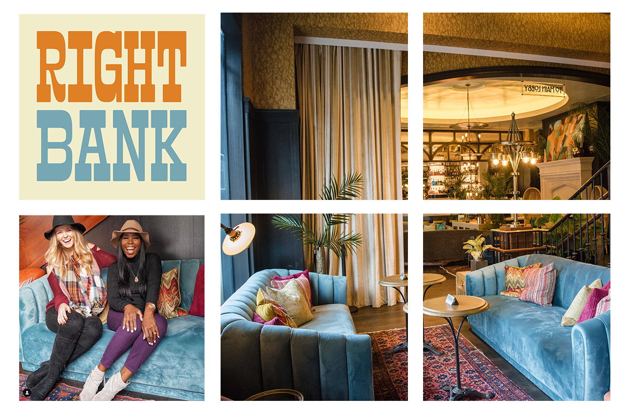 The Right Bank at Louie Louie for Events