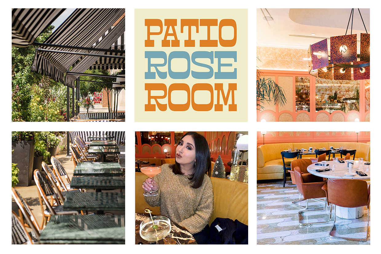 The Rose Room and Patio at Louie Louie for Events