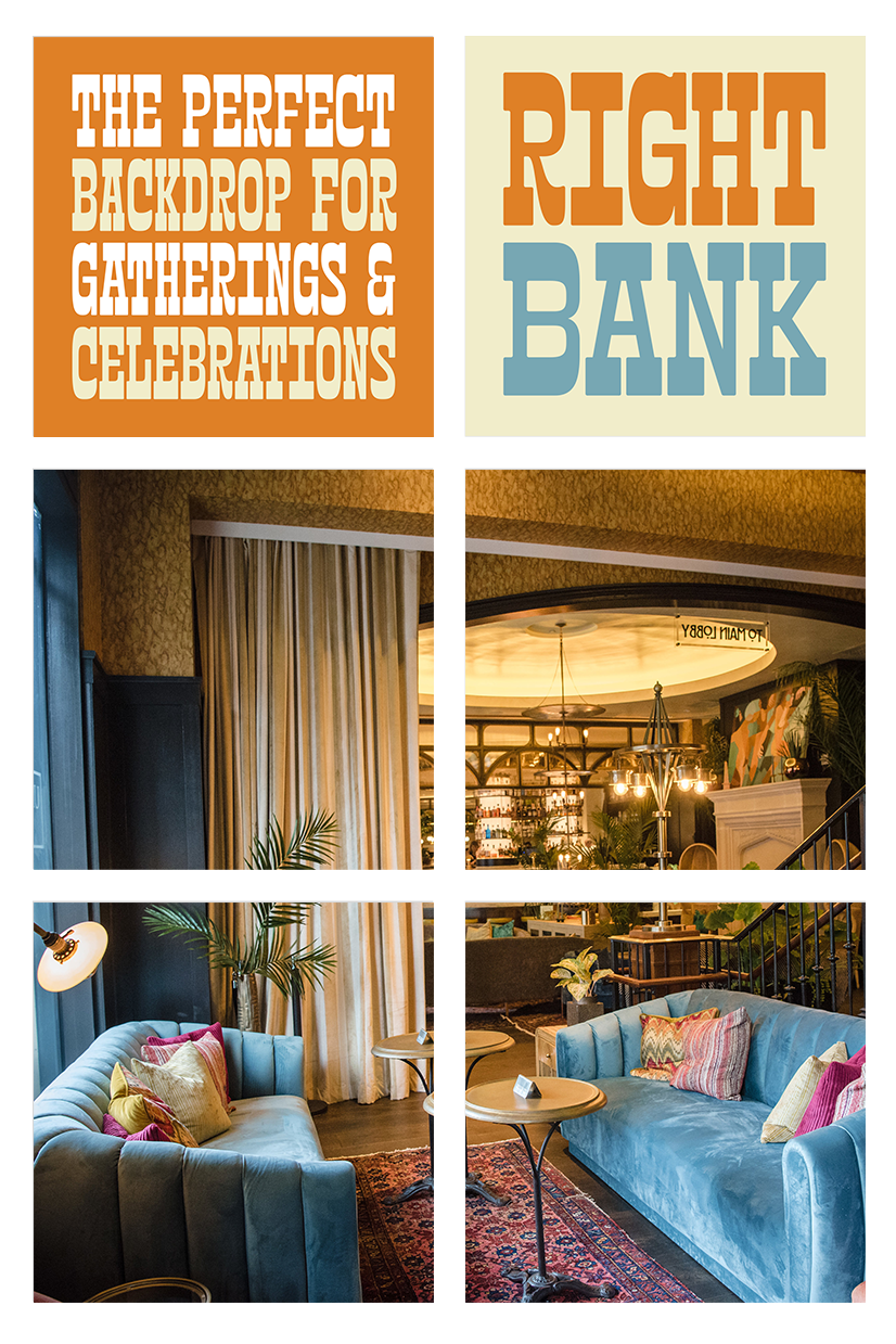 Louie Louie's Right Bank is perfect for gathering